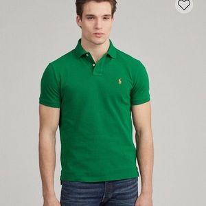 Men's Green Polo Shirt Ralph Lauren